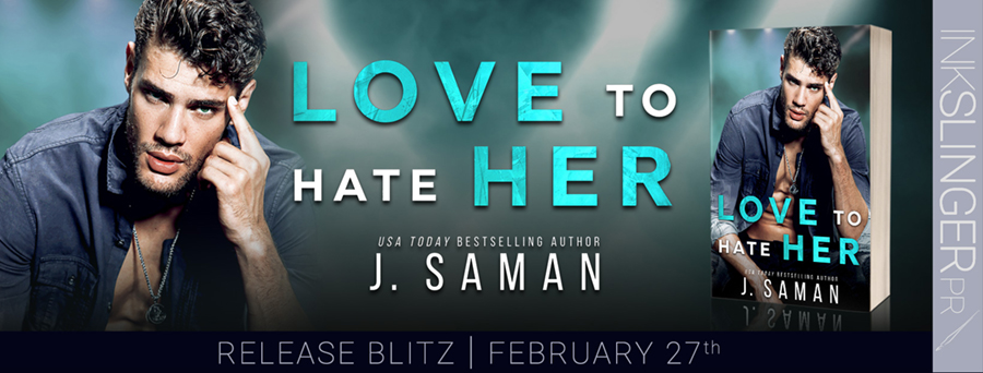 LOVE TO HATE HER Release Day
