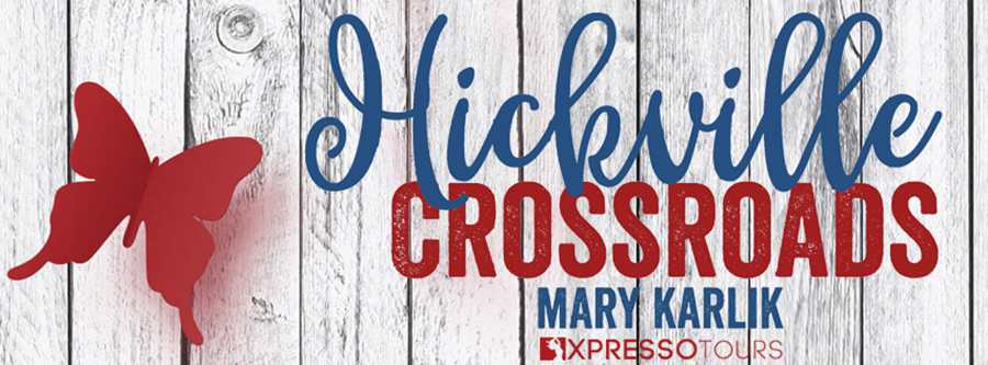 Cover Reveal for HICKSVILLE CROSSROADS, the fourth book in the young adult contemporary romance series, Hicksville High, by Mary Karlik