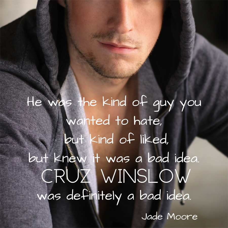 Teaser from MORE JADE, the first book in the adult contemporary rock star romance series, Love You More, by Laura Pavlov