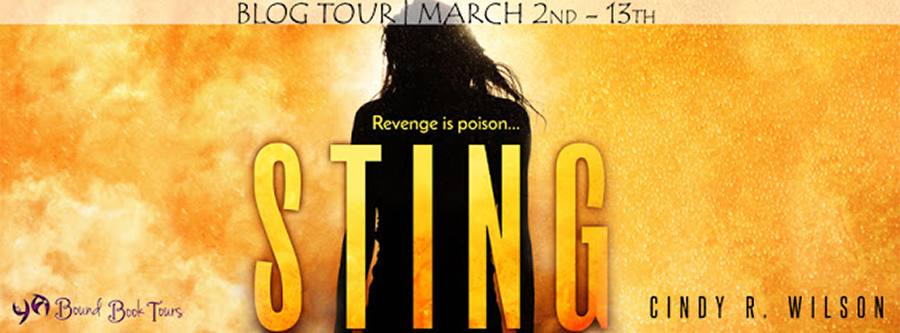 Blog Tour for STING, a young adult dystopian adventure, by Cindy R. Wilson