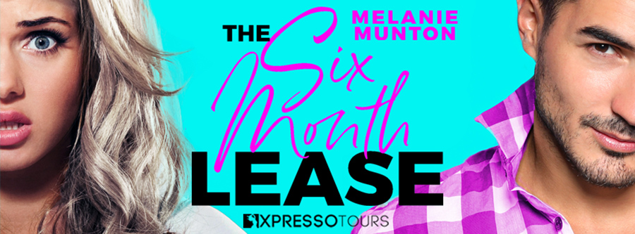 Author Melanie Munton is revealing the cover to THE SIX MONTH LEASE, the second book in her adult contemporary romantic comedy series, Southern Hearts Club, releasing August 18, 2020