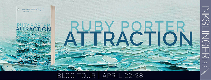 Welcome to the blog tour for ATTRACTION, a stand-alone women's fiction/suspense/adult psychological thriller by award-winning debut author, Ruby Porter