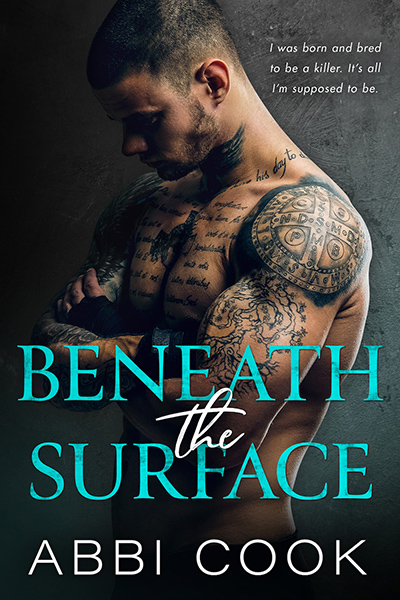 Cover for BENEATH THE SURFACE, a stand-alone adult contemporary romance by Abbi Cook