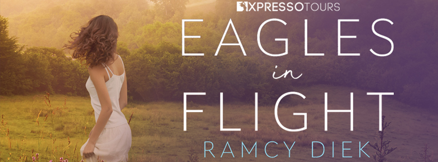 Acorn Publishing and author Ramcy Diek are revealing the cover to EAGLES IN FLIGHT, a stand-alone adult contemporary romance, releasing August 25, 2020