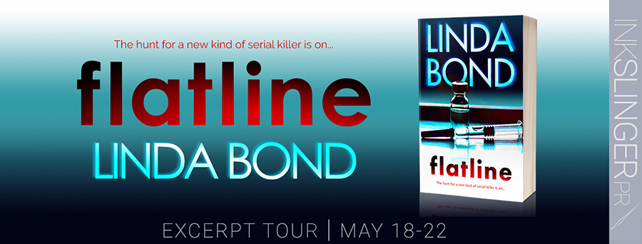 Welcome to the pre-order blitz for FLATLINE, the third book in the adult romantic suspense series, The Investigators, by Linda Bond, releasing May 25, 2020