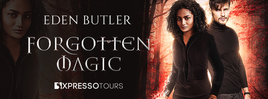 City Owl Press and author Eden Butler are revealing the cover to FORGOTTEN MAGIC, the first book in the adult paranormal romance series, Crimson Cove, releasing June 28, 2020.
