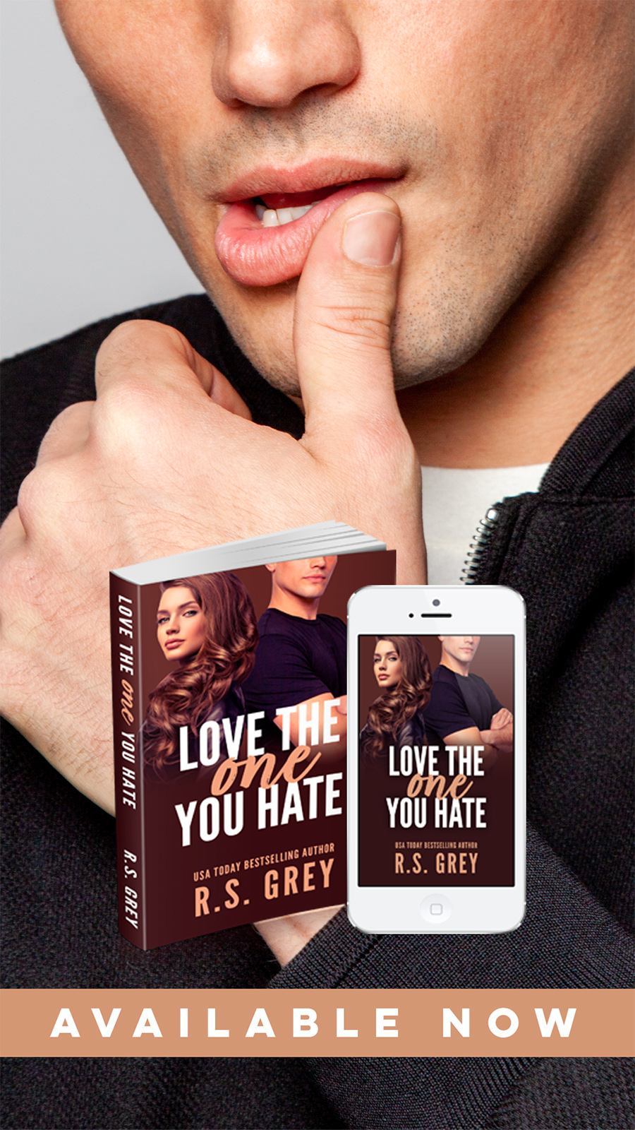 LOVE THE ONE YOU HATE, a stand-alone contemporary romance/romantic comedy, by USA Today bestselling author, R.S. Grey is now available