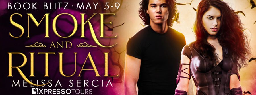 Welcome to the book blitz for SMOKE AND RITUAL, the first book in the adult paranormal romance series, Beautiful Dark Beasts, by Melissa Sercia