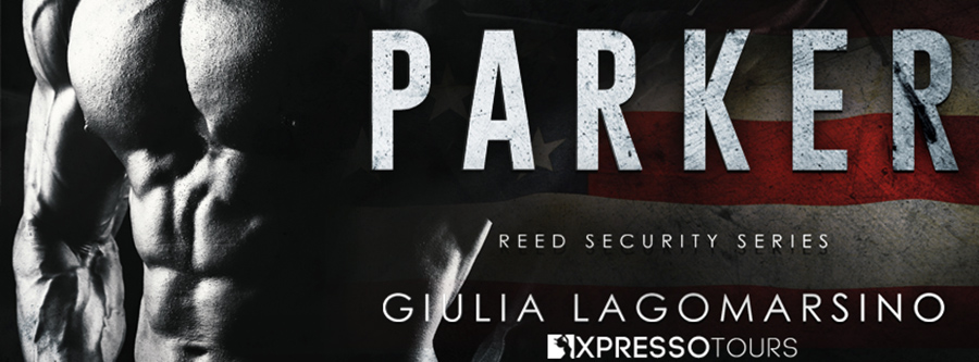 Author Giulia Lagomarsino is revealing the cover to PARKER, the 25th book in her adult contemporary romance/romantic suspense series, Reed Security, releasing July 3, 2020