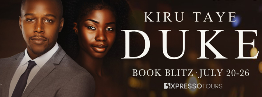 Welcome to the book blitz for DUKE, the first book in the adult contemporary romance series, Enders, by Kiru Taye