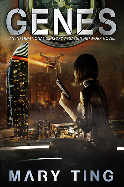 GENES, the third book in the young adult sci-fi/dystopian adventure series, ISAN, by Mary Ting