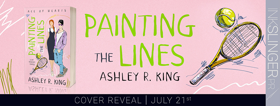 City Owl Press and author Ashley R. King are revealing the cover to PAINTING THE LINES, the first book in the adult contemporary sports romance series, Ace of Hearts, releasing August 25, 2020
