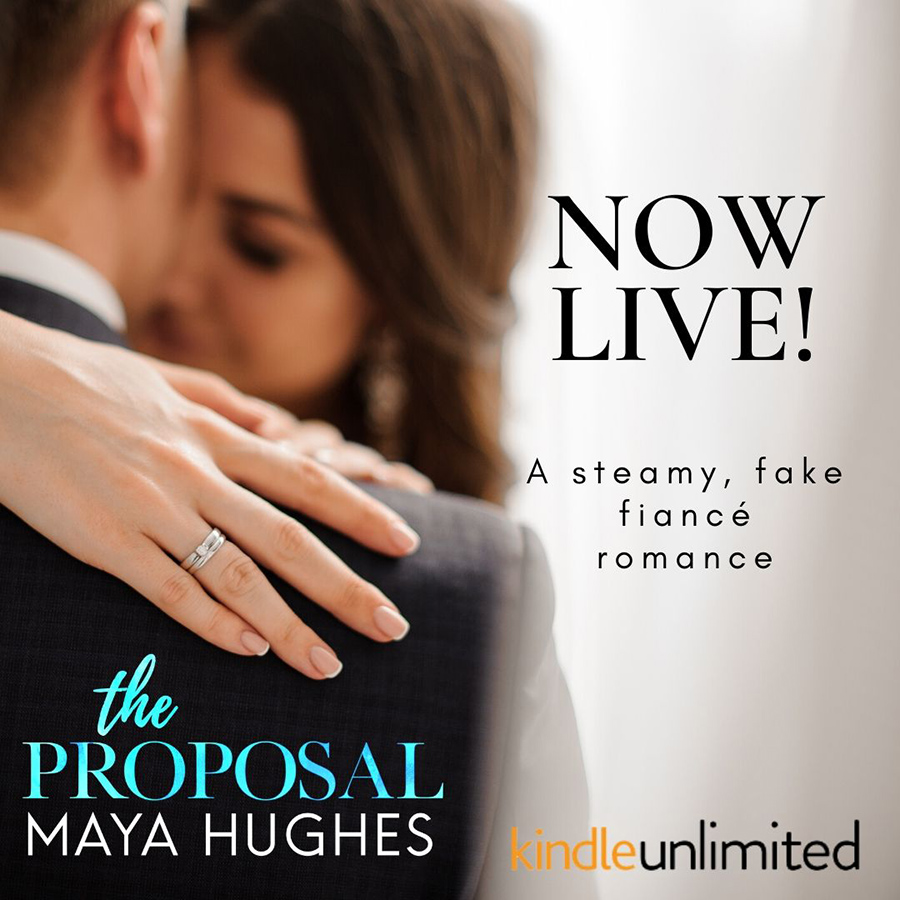 THE PROPOSAL, the first book in the adult contemporary romance series, Cupcakes & Cocktails, by Maya Hughes