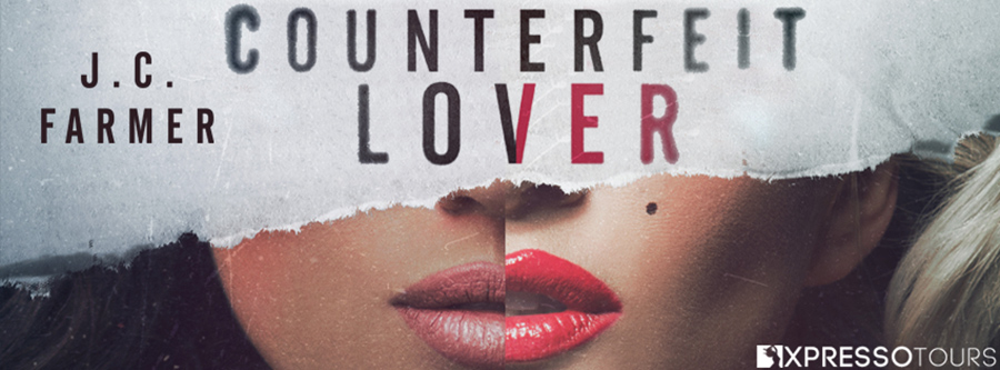 Acorn Publishing and author J.C. Farmer are revealing the cover to COUNTERFEIT LOVER, the first book in the adult romantic thriller series, American Fairytale, releasing November 24, 2020