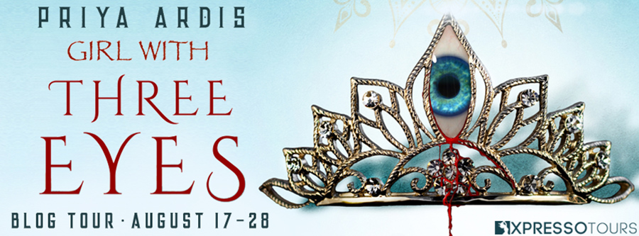 Welcome to the book blitz for GIRL WITH THREE EYES, a young adult adult fantasy, by bestselling author, Priya Ardis, releasing October 2020