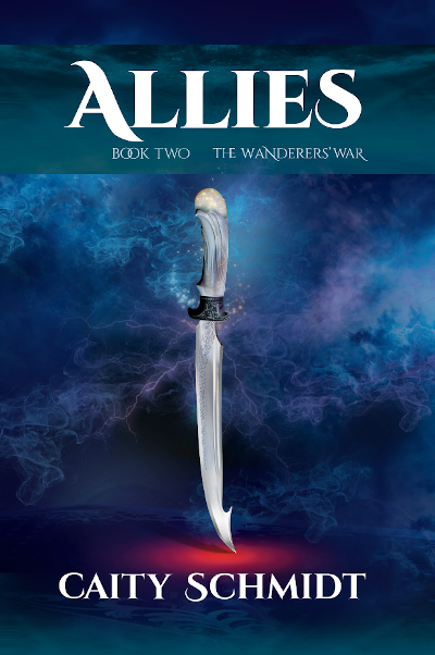 ALLIES, the second book in the fantasy series, The Wanderers' War series, by Caity Schmidt