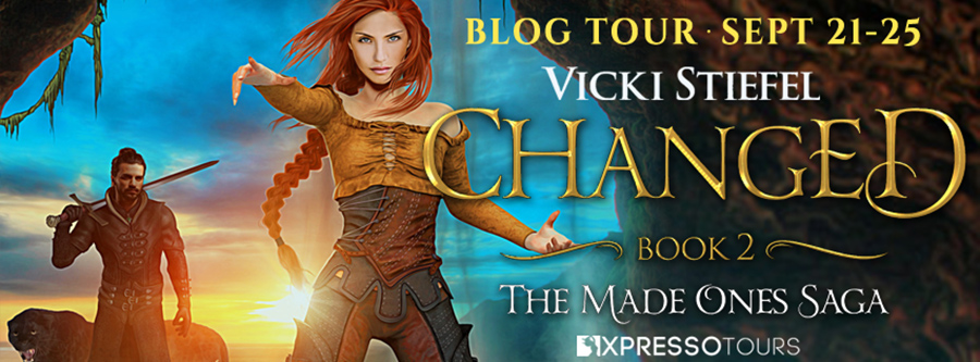 Welcome to the blog tour for CHANGED, the second book in the adult fantasy romance series, The Made Ones Saga, by Vicki Stiefel
