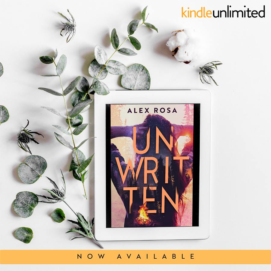 UNWRITTEN, a stand-alone adult contemporary romance, by Alex Rosa