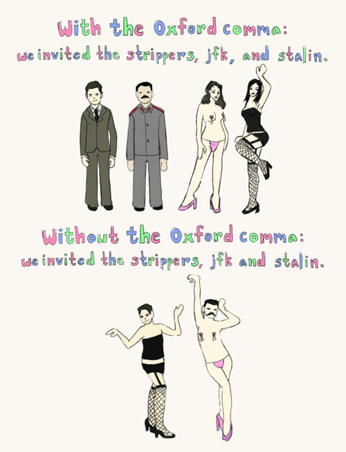A Case for the Oxford Comma