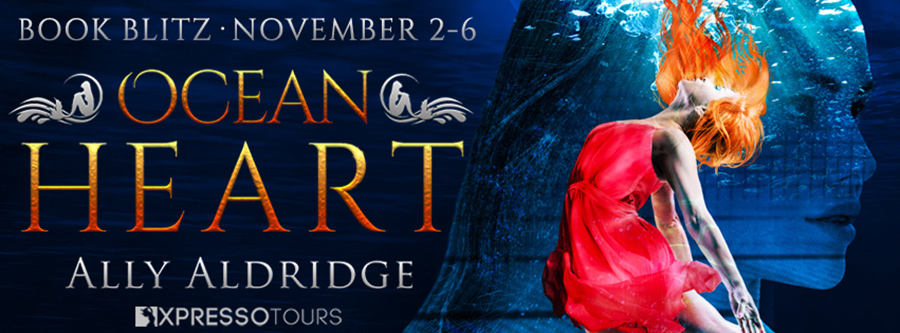 Welcome to the book blitz for OCEAN HEART, the first book in the young adult fantasy romance series, The Soul Heart, by Ally Aldridge, releasing December 1, 2020