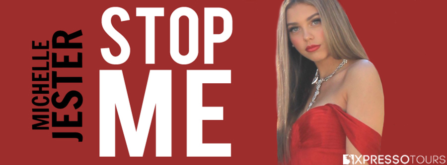 Author Michelle Jester is revealing the cover to STOP ME, the first book in her adult contemporary romance series, Rue the Day, releasing February 1, 2021