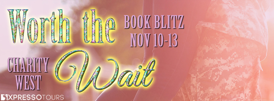 Welcome to the book blitz for WORTH THE WAIT, a stand-alone new adult contemporary romance by Charity West