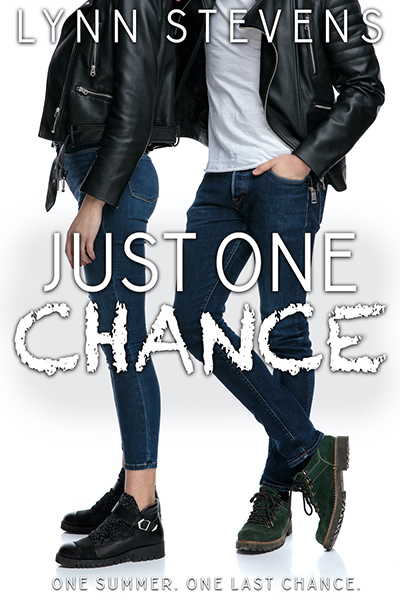 JUST ONE CHANCE, the third book in the young adult/new adult contemporary romance series, Just One, by Lynn Stevens