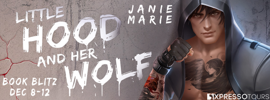 Welcome to the book blitz for LITTLE HOOD AND HER WOLF, the second book in the young adult fairy tale romance trilogy, The Big Bad Wolf, by Janie Marie