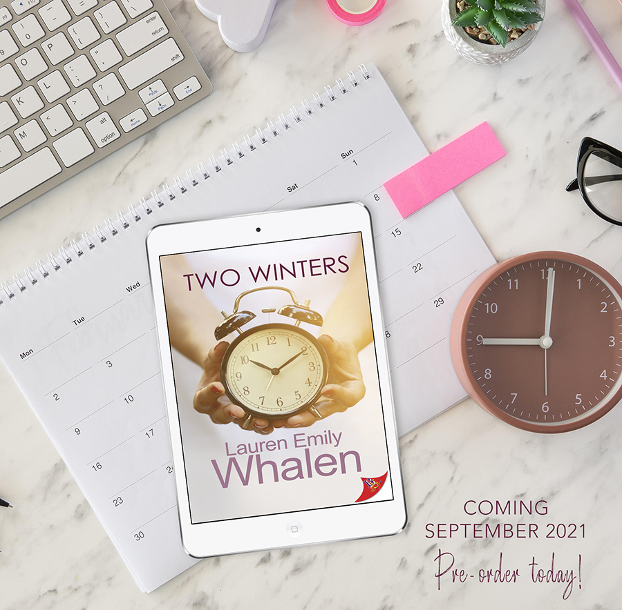 Preorder TWO WINTERS, a stand-alone young adult contemporary LGBTQ+ romance, Lauren Emily Whalen Now!