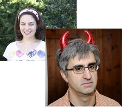 Authors Julie Halpern and Len Vlahos
