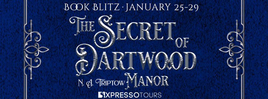 Welcome to the book blitz for THE SECRET OF DARTWOOD MANOR, the first book in the young adult fantasy romance series, The Witchling Trilogy, by N.A. Triptow