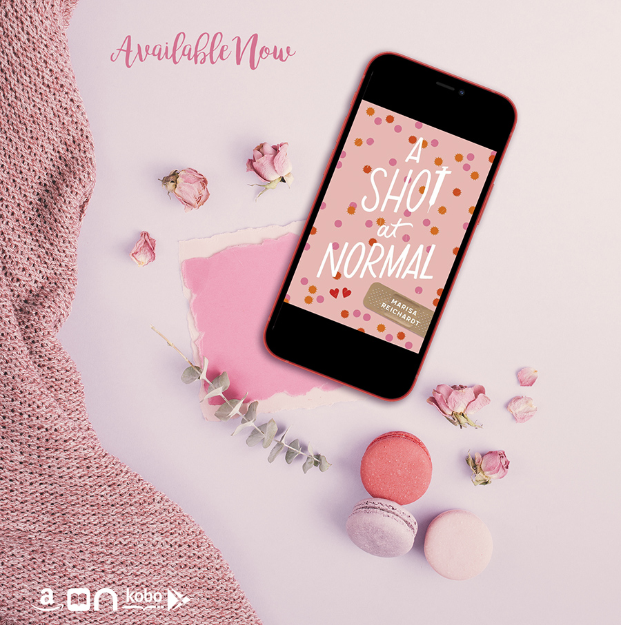 A SHOT AT NORMAL, a standalone young adult contemporary, by Marisa Reichardt is Available Now!