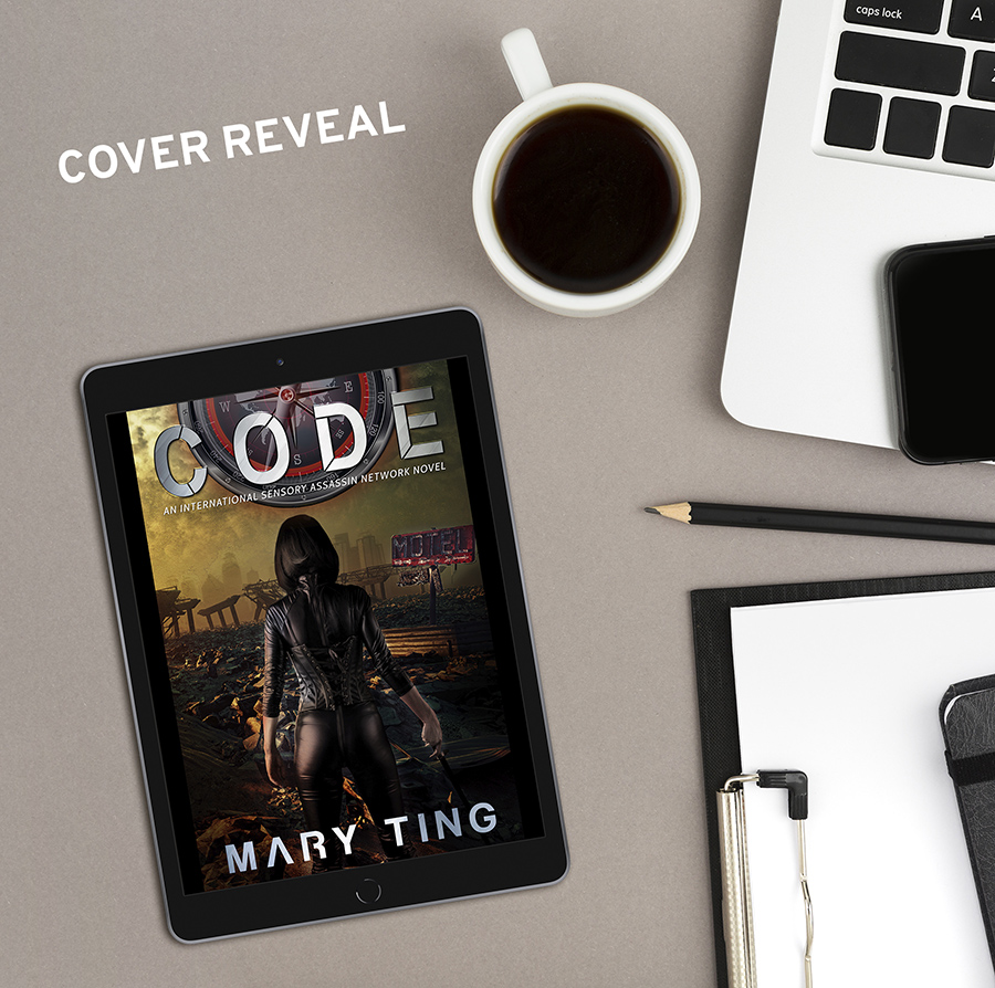 CODE, the fourth book in the young adult science fiction/dystopian series, ISAN, by Mary Ting, Coming April 20, 2021