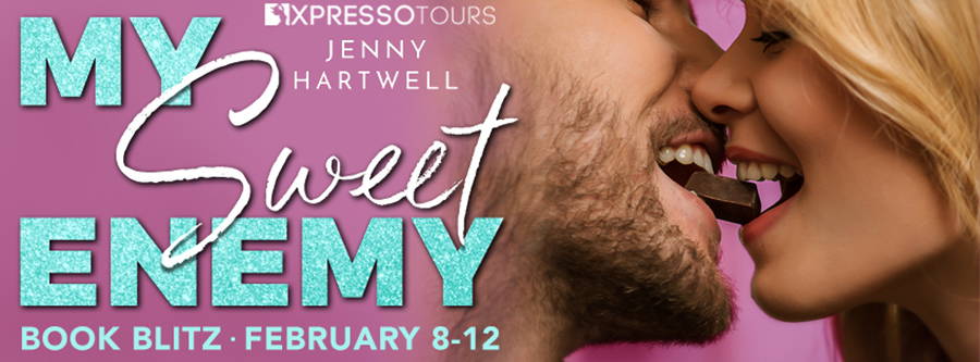 Welcome to the book blitz for MY SWEET ENEMY, the first book in the new adult contemporary romance series, Simone's Chocolates, by Jenny Hartwell