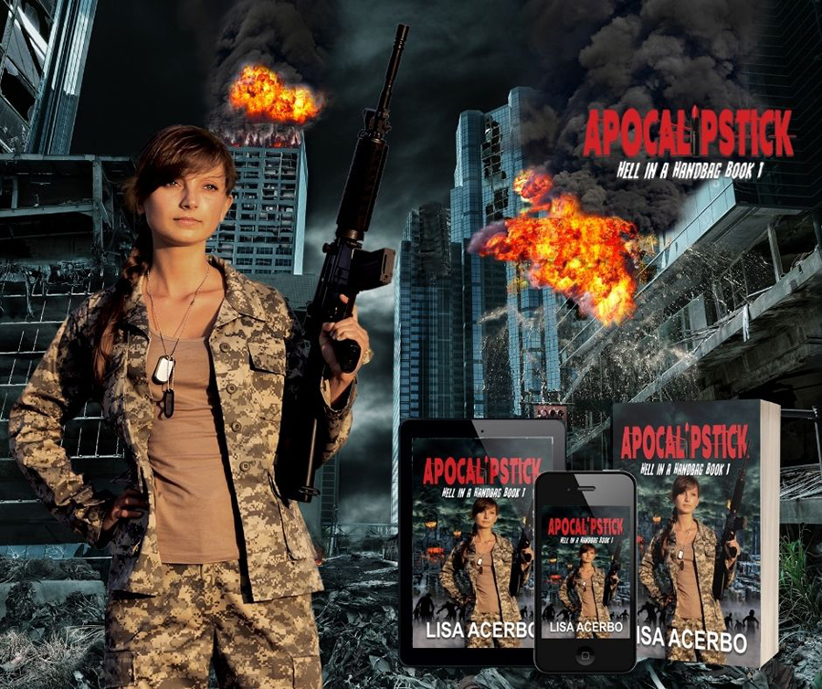 Read APOCALIPSTICK, the first book in the young adult/new post-apocalyptic adventure, Hell in a Handbag,, by Lisa Acerbo on Kindle Unlimited