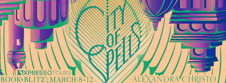 Welcome to the book blitz for CITY OF SPELLS, the second book in the young adult fantasy series, Into the Crooked Places, by Alexandra Christo