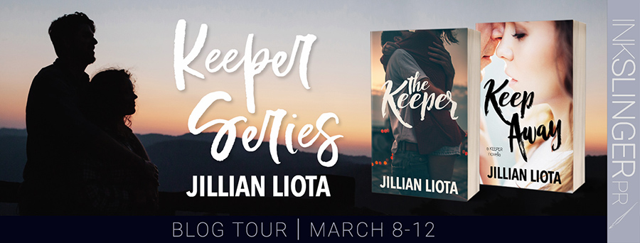 Welcome to the blog tour for the Keeper series an adult contemporary romance duology by Jillian Liota