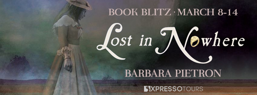 Welcome to the book blitz for LOST IN NOWHERE, the third book in the young adult paranormal romance series, Legacy in Legend, by Barbara Pietron, releasing April 20, 2021