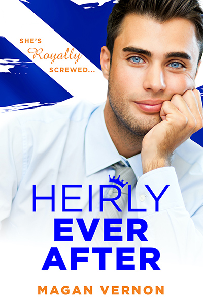 HEIRLY EVER AFTER, a standalone new adult contemporary romance, by Magan Vernon