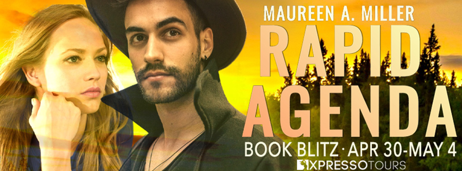 Welcome to the book blitz for RAPID AGENDA, the second book in the adult romantic suspense series, High-Risk Agenda, by USA Today bestselling author Maureen A. Miller