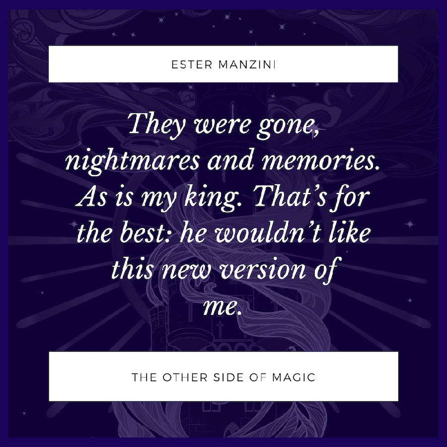 Teaser excerpt from THE OTHER SIDE OF MAGIC, a standalone young fantasy by Ester Manzini