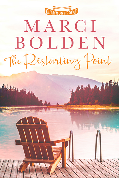 THE RESTARTING POINT, the first book in the women's fiction series, Chammont Point, by Marci Bolden