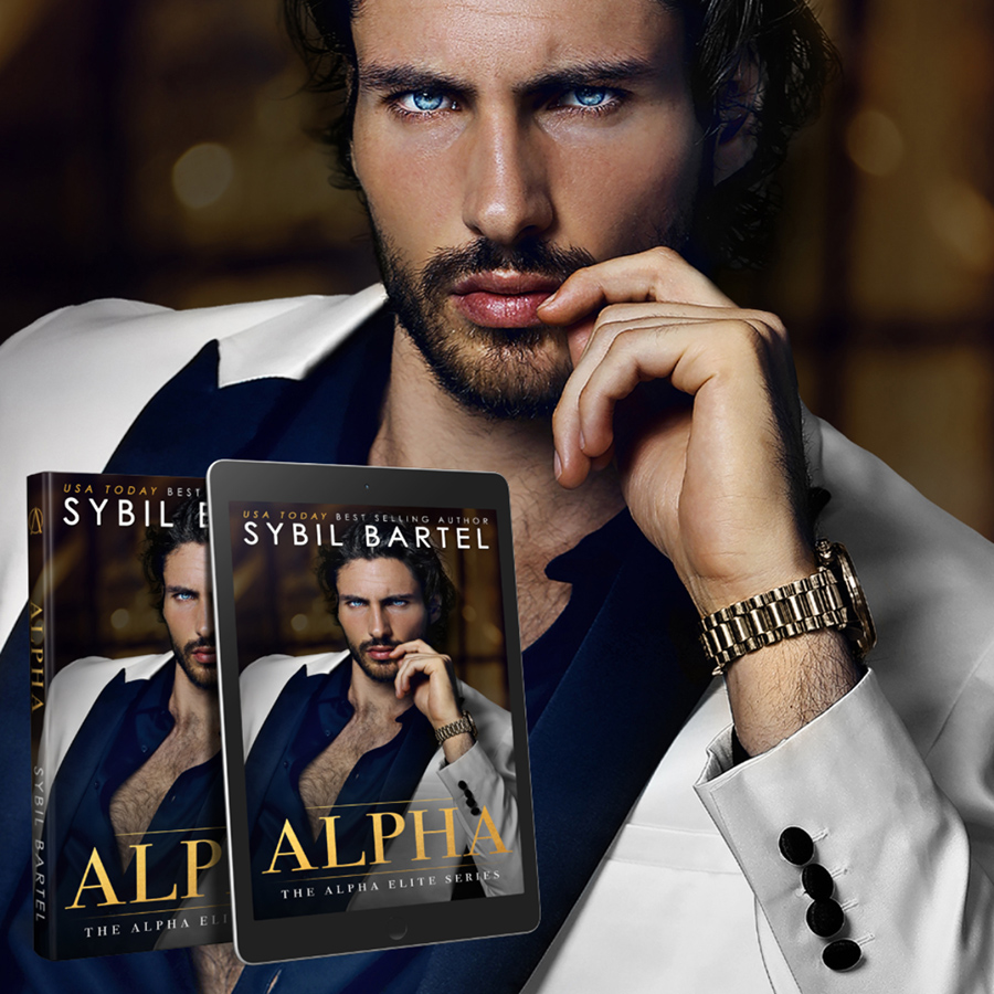 Teaser from ALPHA, the first book in her adult contemporary romance/romantic suspense series, Alpha Elite, by USA Today bestselling author Sybil Bartel