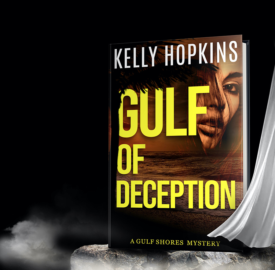 GULF OF DECEPTION, the first book in the young adult mystery series, Gulf Shores Mysteries, by Kelly Ann Hopkins is out now