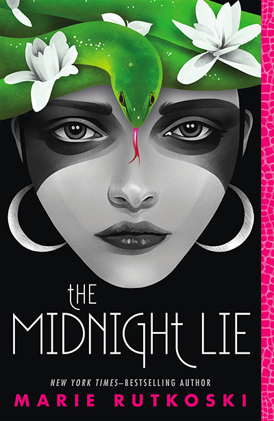 THE MIDNIGHT LIE, the first book in the young adult LGBTQ fantasy romance series, The Midnight Lie, by New York Times bestselling author Marie Rutkoski