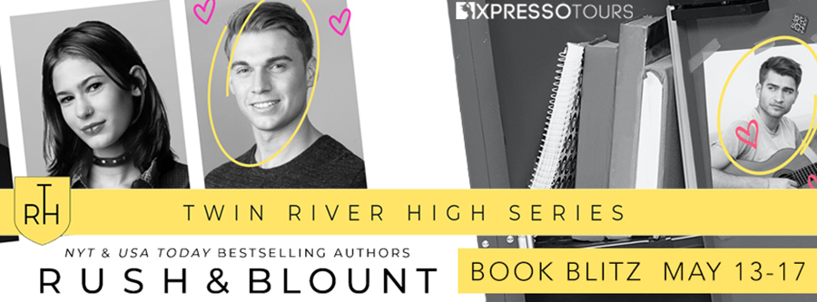 Welcome to the series blitz for Twin River High, a young adult contemporary romance series, by New York Times and USA Today bestselling authors Lynn Rush and Kelly Anne Blount