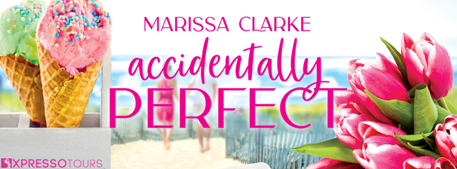 Entangled Amara and author Marissa Clarke are revealing the cover to ACCIDENTALLY PERFECT, the first book in the adult contemporary romantic comedy series, Hideaway Harbor, releasing February 22, 2022