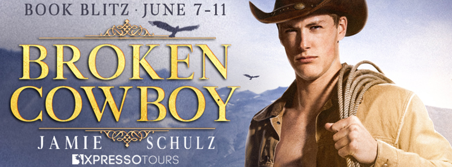 Welcome to the book blitz for BROKEN COWBOY, the first book in the adult western romance series, The Montana Men, by Jamie Schulz.