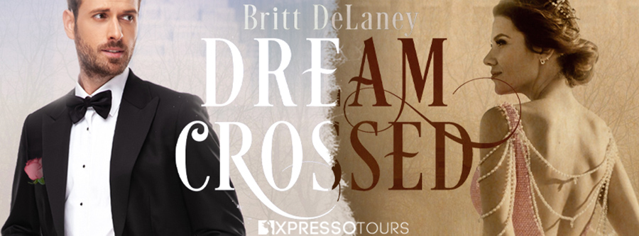 Author Britt DeLaney is revealing the cover to DREAM CROSSED, a standalone adult paranormal time-traveling romance, releasing August 24, 2021
