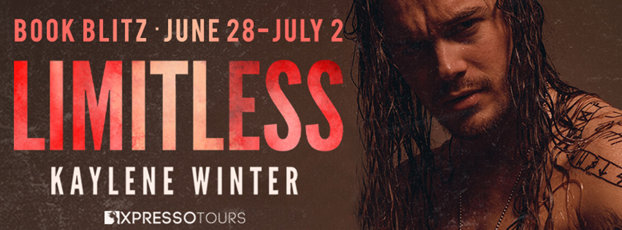 Welcome to the book blitz for LIMITLESS, the second book in the adult contemporary rockstar romance series, Less Than Zero, by Kaylene Winter